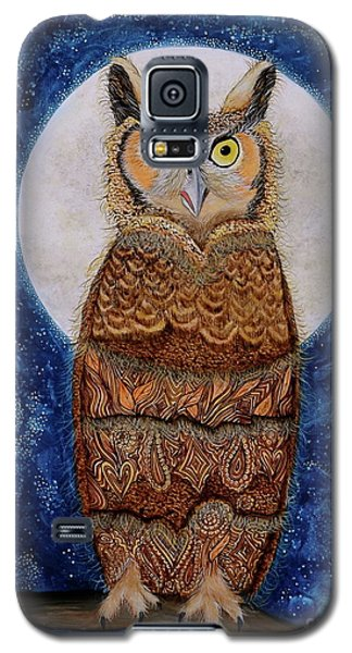 Paisley Moon Galaxy S5 Case by Deborha Kerr