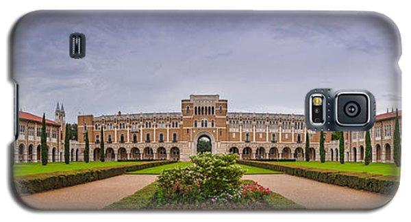 Panorama Of Rice University Academic Quad - Houston Texas Galaxy S5 Case