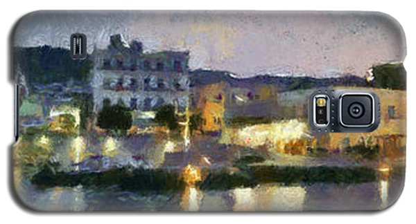 Panoramic View Of Spetses Town Galaxy S5 Case