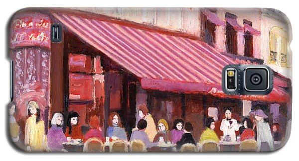 Paris Cafe Bar Galaxy S5 Case