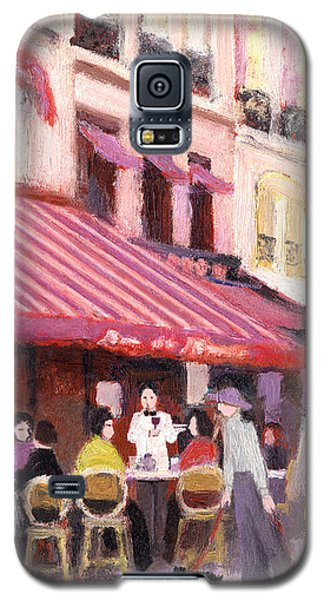 Paris Cafe Bar Galaxy S5 Case