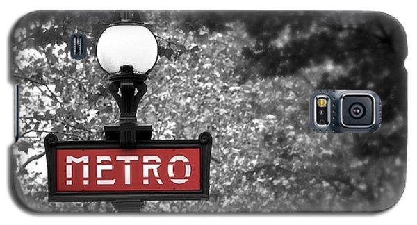 Paris Metro Galaxy S5 Case