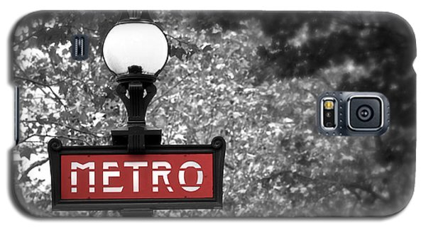 Paris Metro Galaxy S5 Case