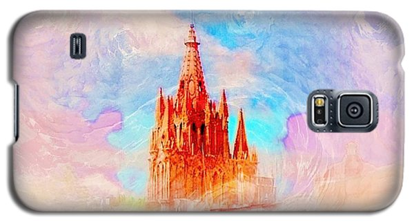 Galaxy S5 Case featuring the photograph Parish Of St. Michael The Archangel by John  Kolenberg