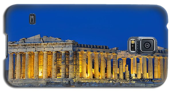 Parthenon In Acropolis Of Athens During Dusk Time Galaxy S5 Case