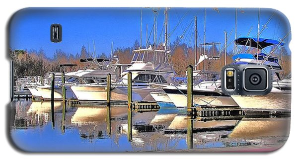 Peaceful Marina Galaxy S5 Case by Ed Roberts