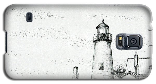 Pemaquid Point Lighthouse Galaxy S5 Case by Mariarosa Rockefeller