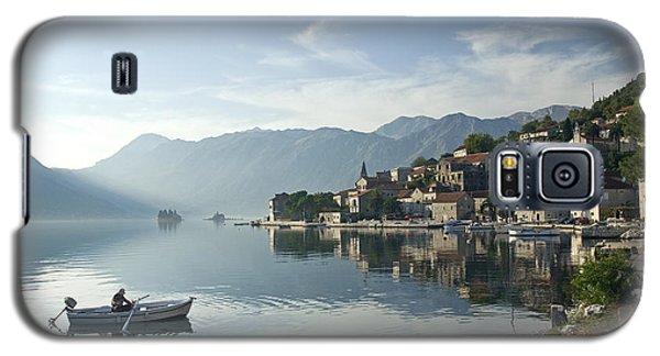 Perast Village In Montenegro Galaxy S5 Case