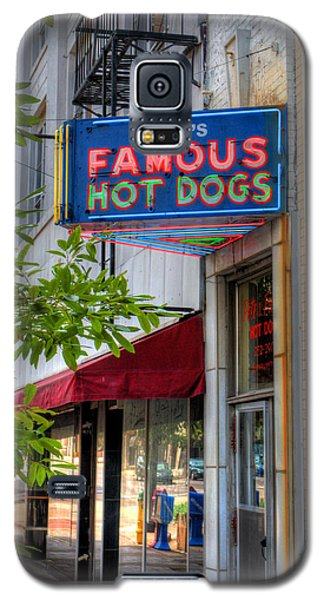 Pete's Famous Hot Dogs Galaxy S5 Case by Fred Baird