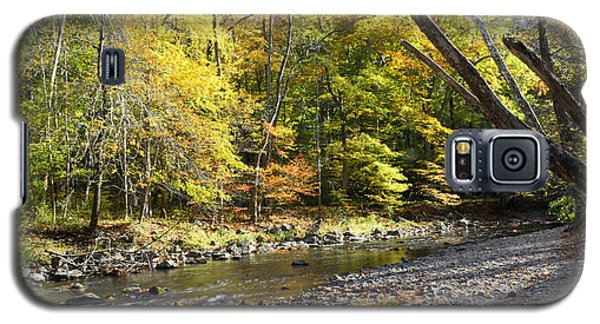 Philadelphia Landmark Pennypack Creek In Autumn Galaxy S5 Case