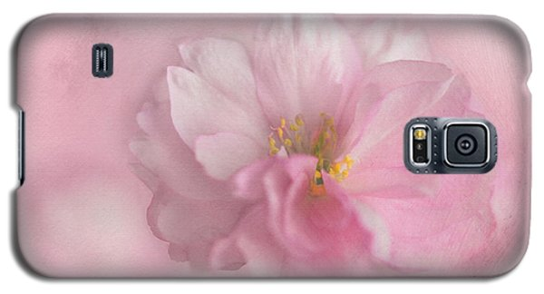 Galaxy S5 Case featuring the photograph Pink Blossom by Annie Snel