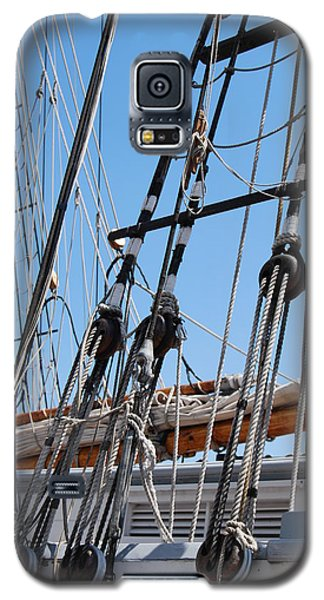 Galaxy S5 Case featuring the photograph Pirate Ship  by Ramona Whiteaker