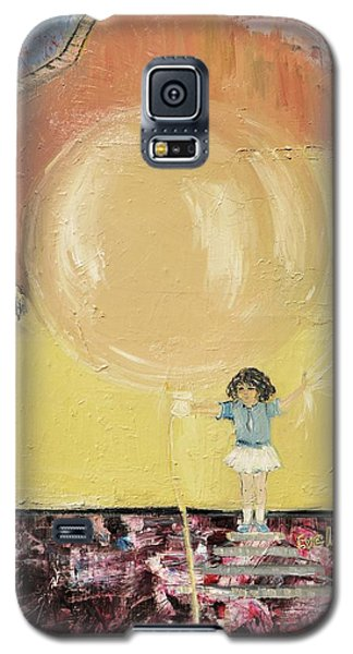 Galaxy S5 Case featuring the painting Playground by Evelina Popilian