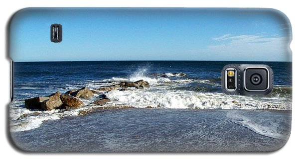 Galaxy S5 Case featuring the photograph Plum Island Landscape by Eunice Miller
