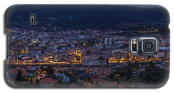 Galaxy S5 Case featuring the photograph Pontevedra Panorama From A Caeira by Pablo Avanzini