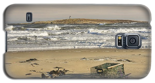 Popham Beach On The Maine Coast Galaxy S5 Case by Keith Webber Jr