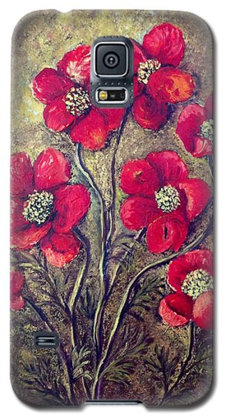 Poppies Galaxy S5 Case by Renate Voigt