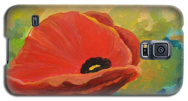 Poppy Galaxy S5 Case
