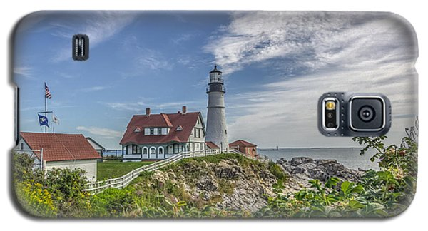 Galaxy S5 Case featuring the photograph Portland Headlight by Jane Luxton