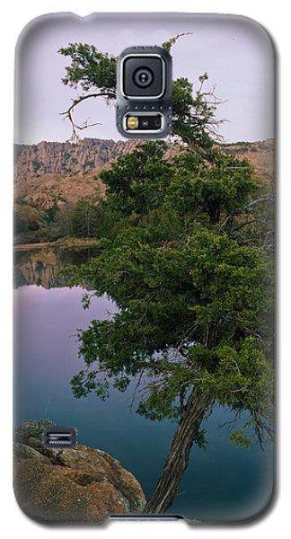 Post Oak Lake And Elk Mountain Galaxy S5 Case