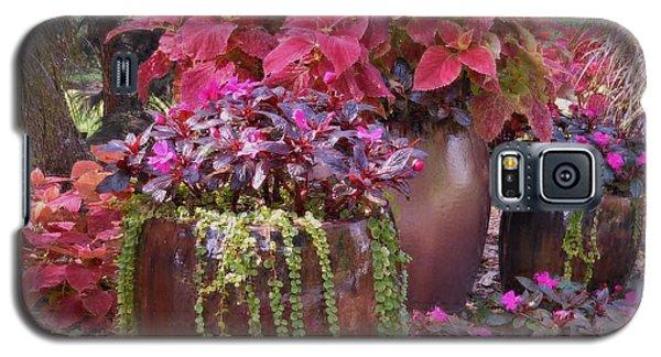 Pots Of Flowers Galaxy S5 Case