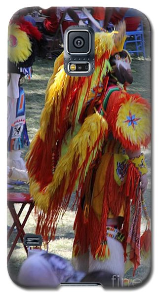 Galaxy S5 Case featuring the photograph Pow Wow Series by Yumi Johnson