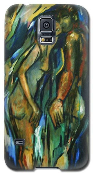 Galaxy S5 Case featuring the painting Prelude by Dawn Fisher