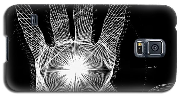 Quantum Hand Through My Eyes Galaxy S5 Case