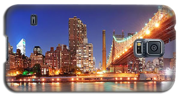 Queensboro Bridge And Manhattan Galaxy S5 Case