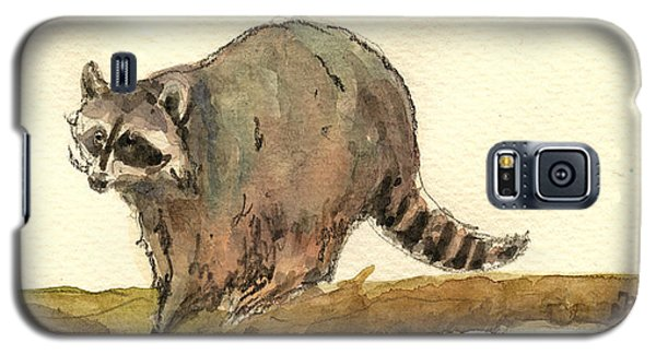 Raccoon Galaxy S5 Case - Raccoon by Juan  Bosco