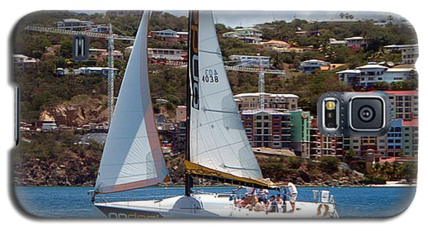 Galaxy S5 Case featuring the photograph Racing At St. Thomas 1 by Tom Doud