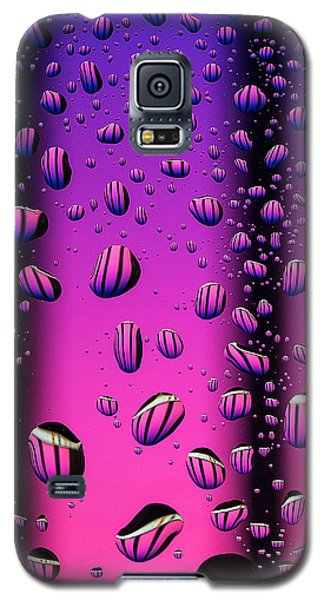 Galaxy S5 Case featuring the photograph Rain Drops by Vladimir Kholostykh