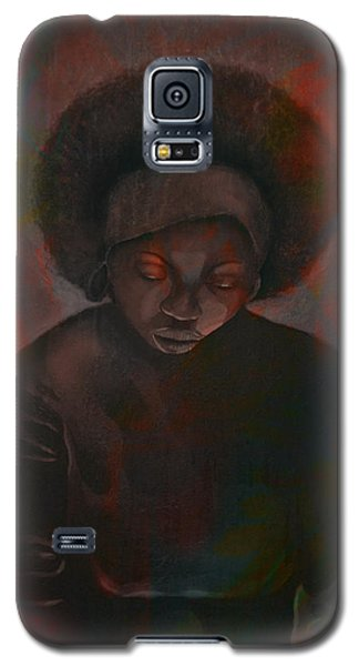 Galaxy S5 Case featuring the painting Reciprocity by AC Williams