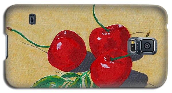 Red Cherries Galaxy S5 Case by Johanna Bruwer