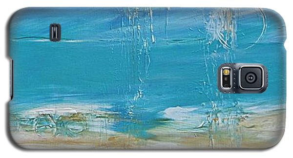 Galaxy S5 Case featuring the painting Reflections by Diana Bursztein