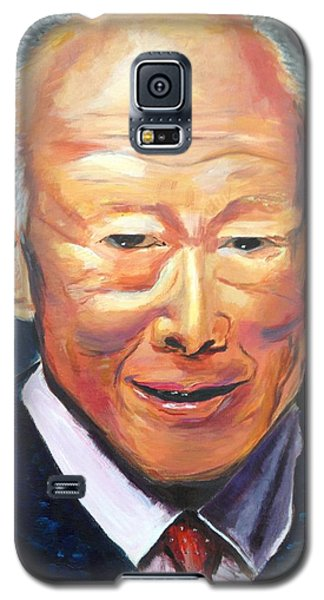 Galaxy S5 Case featuring the painting R E S P E C T by Belinda Low