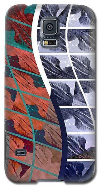 Galaxy S5 Case featuring the photograph Ribbons by Steve Godleski