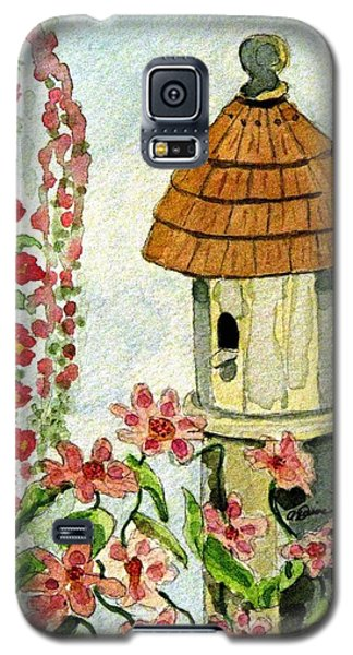 Galaxy S5 Case featuring the painting Room With A View by Angela Davies