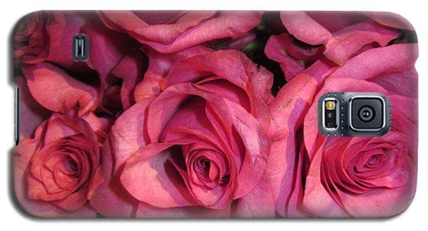 Rosebouquet In Pink Galaxy S5 Case