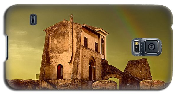 Ruin At Palatine Hill Galaxy S5 Case