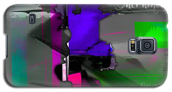 Sacramento Map Watercolor Galaxy S5 Case by Marvin Blaine