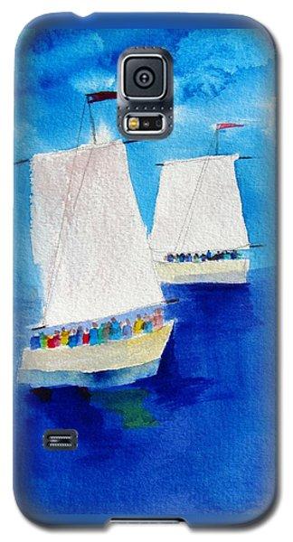 2 Sailboats Galaxy S5 Case