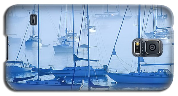 Sailboats In The Fog - Maine Galaxy S5 Case