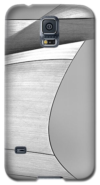 Sailcloth Abstract Number 4 Galaxy S5 Case by Bob Orsillo
