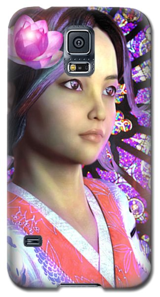 Saint Lucy Yi Zhenmei Of China Galaxy S5 Case by Suzanne Silvir