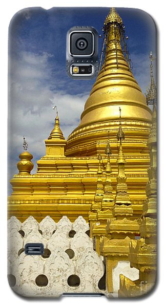 Galaxy S5 Case featuring the photograph Sandamuni Pagoda Mandalay Burma by Ralph A  Ledergerber-Photography