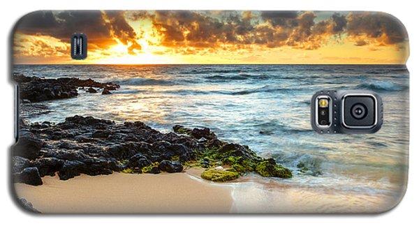 Sandy Beach Sunrise 7 Galaxy S5 Case