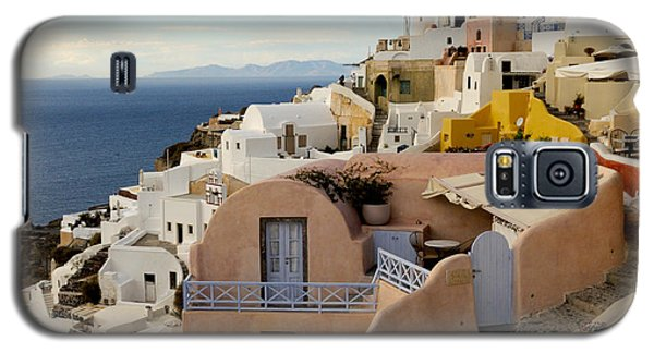Santorini - Greece Galaxy S5 Case by Haleh Mahbod