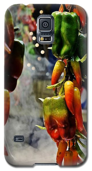 Galaxy S5 Case featuring the photograph Sausage And Peppers by Lilliana Mendez