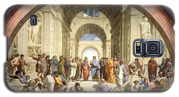 School Of Athens Galaxy S5 Case by Raphael